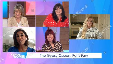 Ruth Langsford, Coleen Nolan, Saira Khan, Janet Street-Porter, Paris Fury