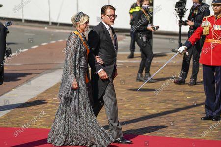 Editorial image of Prinsjesdag: Royal couple arrives at Grote Kerk, Den Haag, Netherlands - 15 Sep 2020