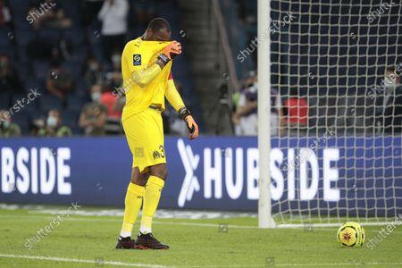 Steve Mandanda (Olympique de Marseille) reacted