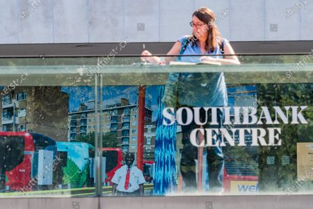 Juergen Teller, Stephen, London, 2020 - a London bus driver - Everyday Heroes is an outdoor exhibition on walls and windows around the Southbank Centre. It celebrates the contributions that key workers and frontline staff have made during the coronavirus pandemic.