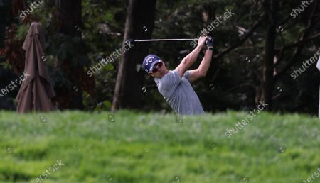 Ryo Ishikawa of Japan hits from the tee on the eleventh hole during a practice round for the 2020 US Open at Winged Foot Golf Club in Mamaroneck, New York, USA, 15 September 2020. The 2020 US Open will be played from 17 September through 20 September in front of no fans due to the ongoing coronovirus pandemic.