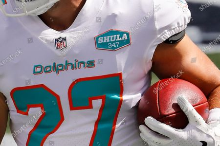 Editorial image of Dolphins Patriots Football, Foxborough, United States - 13 Sep 2020