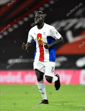 Mamadou Sakho (12) of Crystal Palace during the EFL Cup match between Bournemouth and Crystal Palace at the Vitality Stadium, Bournemouth