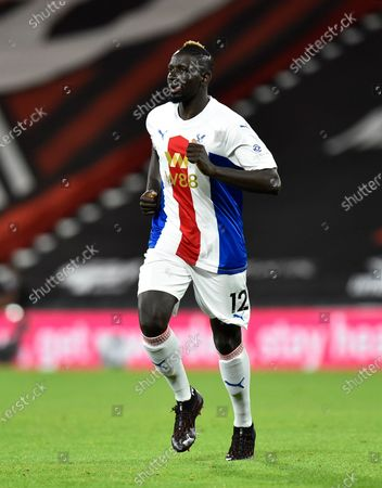 Stock Picture of Mamadou Sakho (12) of Crystal Palace during the EFL Cup match between Bournemouth and Crystal Palace at the Vitality Stadium, Bournemouth