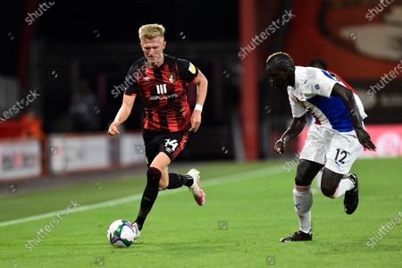 Editorial image of Bournemouth v Crystal Palace, EFL Cup - 15 Sep 2020