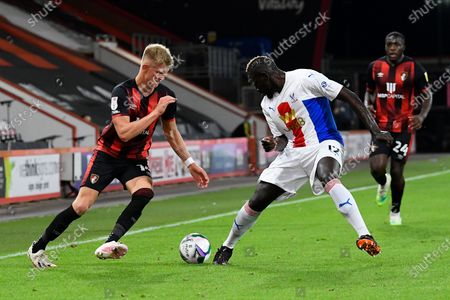 Editorial picture of Bournemouth v Crystal Palace, EFL Cup - 15 Sep 2020