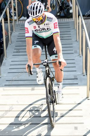 Peter Sagan (SVK) at the start during stage 16 of Tour de France cycling race, over 164 kilometers (101.9 miles) with start in La Tour Du Pin and finish in Villard De Lans