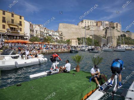 Editorial photo of The Crossing Calvi Monaco Water Bike Challenge, Calvi, France - 13 Sep 2020