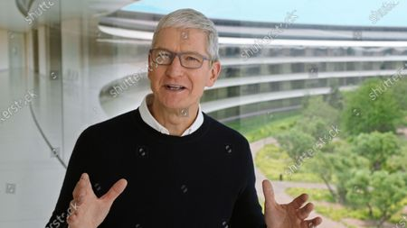 Editorial photo of Apple event, Cupertino, USA - 15 Sep 2020