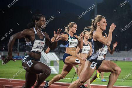 Editorial image of Athletics meeting Gala dei Castelli in Bellinzona 2020, Switzerland - 15 Sep 2020