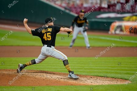 Editorial photo of Pirates Reds Baseball, Cincinnati, United States - 15 Sep 2020