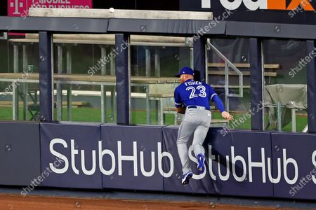 Editorial picture of Blue Jays Yankees Baseball, New York, United States - 15 Sep 2020
