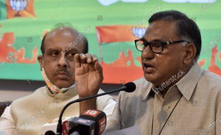 Editorial picture of Press Conference Of Delhi BJP, New Delhi, India - 15 Sep 2020