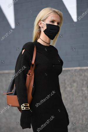 Editorial picture of MONSE FW 2020 Shoppable Presentation, Spring Studios. New York Fashion Week, USA - 14 Sep 2020