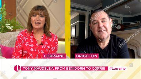 Lorraine Kelly and Tony Maudsley