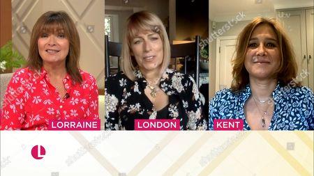 Lorraine Kelly, Fay Ripley and Lizzy Hall