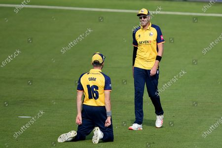 Stock Picture of Matt Quinn (right) and Sam Cook of Essex Eagles