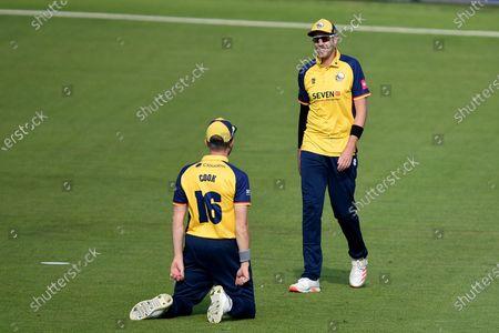 Editorial photo of Hampshire v Essex Eagles, Vitality Blast, T20 Cricket, The Ageas Bowl, Southampton - 16 Sep 2020
