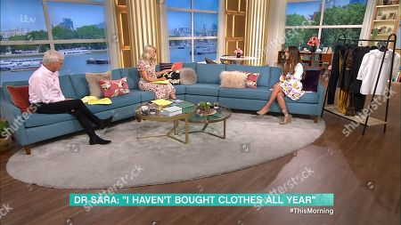 Phillip Schofield, Holly Willoughby and Dr Sara Kayat