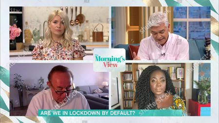 Editorial image of 'This Morning' TV Show, London, UK - 16 Sep 2020