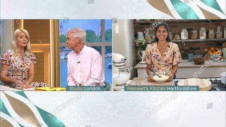 Holly Willoughby, Phillip Schofield and Ravneet Gill