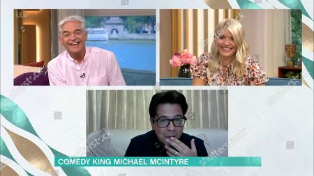 Phillip Schofield, Holly Willoughby and Michael McIntyre