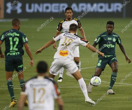 Ramires of Palmeiras during their Campeonato Brasileiro (Brazilian National Football League) match against Sport Recife.