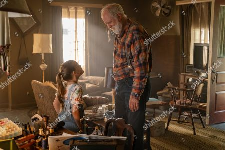 Stock Picture of Jete Laurence, John Lithgow
