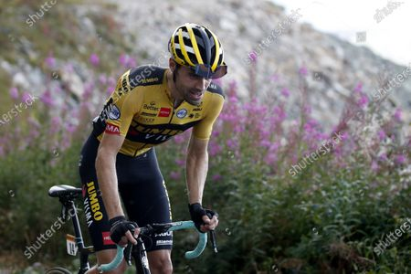Dutch rider Tom Dumoulin of Team Jumbo-Visma in action during the 17th stage of the 107th edition of the Tour de France cycling race over 170 km from Grenoble to Meribel Col de la Loze, France, 16 September 2020.