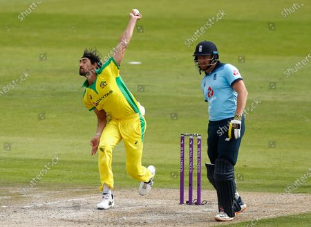 Editorial picture of Cricket England Australia, Manchester, United Kingdom - 16 Sep 2020