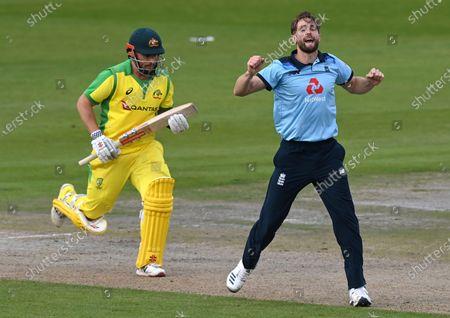 Editorial photo of Cricket England Australia, Manchester, United Kingdom - 16 Sep 2020