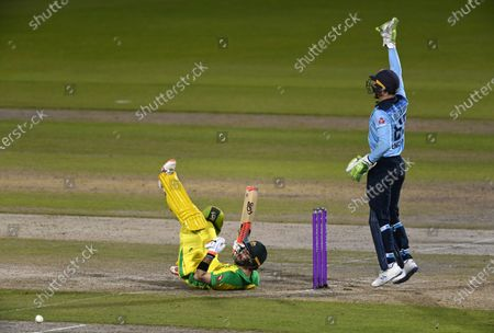 Editorial photo of Cricket England Australia, Manchester, United Kingdom - 16 Sep 2020