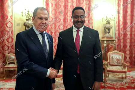 Editorial picture of Russia IGAD, Moscow, Russian Federation - 16 Sep 2020