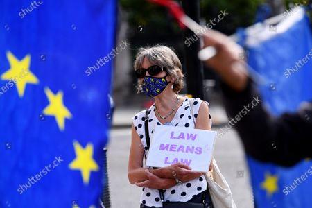 Brexit protest, London