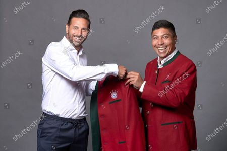 Stock Picture of Claudio Pizarro becomes ambassador of FC Bayern FC Bayern has appointed Claudio Pizarro as ambassador. In his new role, the long-time Bayern striker and darling of the public will help to carry the name, tradition and values of FC Bayern into the world.
