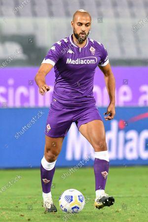Sofyan Amrabat (Fiorentina) during Fiorentina vs Reggiana, Soccer Test Match in Florence, Italy, September 12 2020