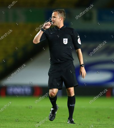 Referee Mr David Webb