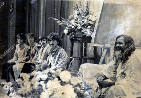 Maharishi Mahesh Yogi Indian Guru Mystic Pictured Editorial Stock Photo Stock Image Shutterstock