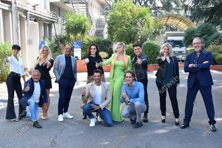 Editorial photo of 'Such and What Show' TV show, photocall, Rome, Italy - 16 Sep 2020