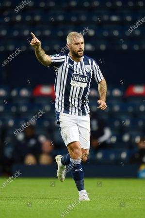 Charlie Austin of West Bromwich Albion.