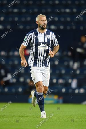 Stock Image of Charlie Austin of West Bromwich Albion.