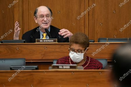 Rep. Brad Sherman, D-Calif., speaks during a House Committee on Foreign Affairs hearing looking into the firing of State Department Inspector General Steven Linick, on Capitol Hill in Washington