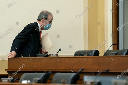 United States Representative Eliot Engel (Democrat of New York), Chairman, US House Committee on Foreign Affairs, arrives to a hearing in Washington, D.C., U.S.,. The hearing is investigating the firing of State Department Inspector General Steve Linick.