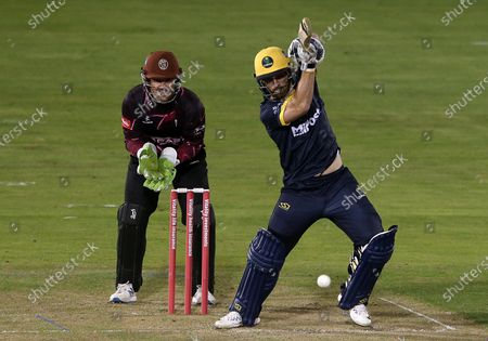Editorial picture of Glamorgan v Somerset - Vitality T20 Blast - 16 Sep 2020
