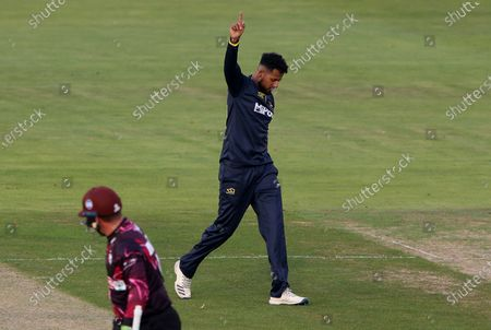 Editorial photo of Glamorgan v Somerset - Vitality T20 Blast - 16 Sep 2020