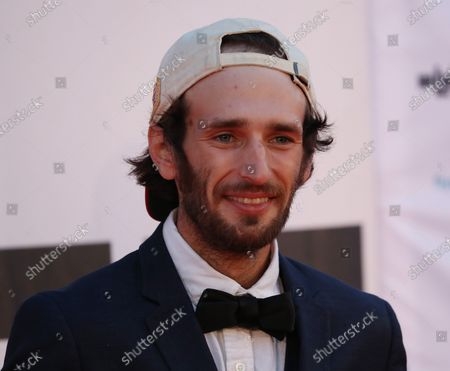 Hopper Penn on the red carpet of the opening of the 27th Oldenburg International Film Festival (Filmfest Oldenburg) in Oldenburg, northern Germany, 16 September 2020. The festival opens with the movie Puppy Love' by director Michael Maxxis.