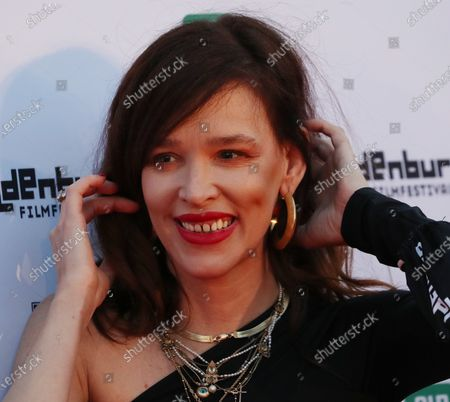 Stock Image of Paz de la Huerta on the red carpet of the opening of the 27th Oldenburg International Film Festival (Filmfest Oldenburg) in Oldenburg, northern Germany, 16 September 2020. The festival opens with the movie Puppy Love' by director Michael Maxxis.