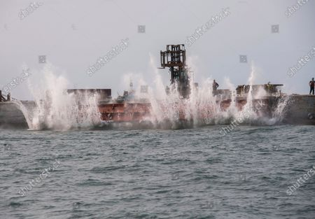 Editorial image of Artificial Reef New York, Point Lookout, United States - 16 Sep 2020