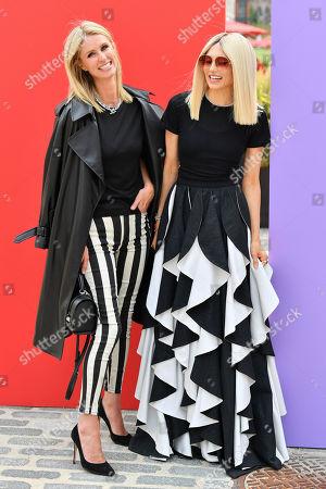 Nicky Hilton Rothschild and Stacey Bendet