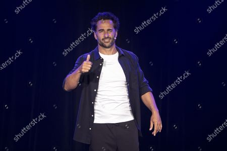 Editorial picture of Florent Peyre performs at Theatre de la Cite, Nice, France - 15 Sep 2020